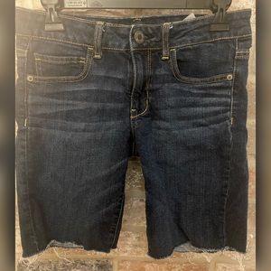 AEO Skinny Bermuda Shorts
